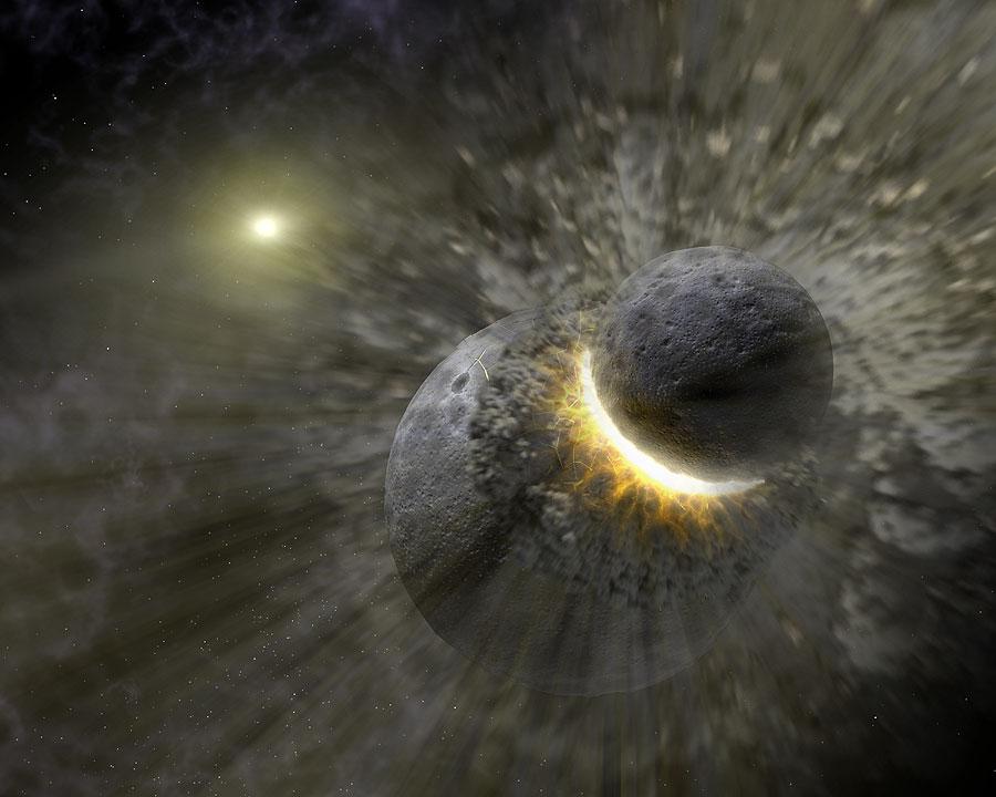 Um impacto colossal pode ser a causa da anomalia do movimento de Vênus