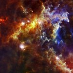 Herschel revela massivas estrelas recém nascidas escondidas na nebulosa Rosette