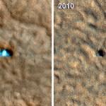 HiRISE fotografa a sonda Phoenix em Marte e revela sinais de danos