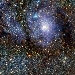 ESO: Telescópio VISTA de infravermelho busca objetos variáveis e revela detalhes da Nebulosa da Lagoa