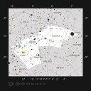 Posição da estrela HD 95086 na constelação de Carina. Crédito: ESO
