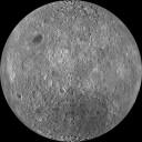 Imagens capturadas pela câmera WAC da LROC. Projeção ortográfica centrada a 180 ° de longitude, latitude 0 º . Crédito: Universidade Estadual NASA / Goddard / Arizona