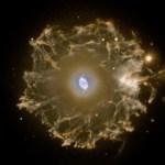 NGC 6543: o Halo filamentoso da Nebulosa Olho de Gato
