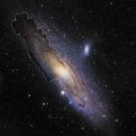 Hubble revela detalhes em alta definição de Andrômeda – 100 milhões de estrelas em uma só imagem!