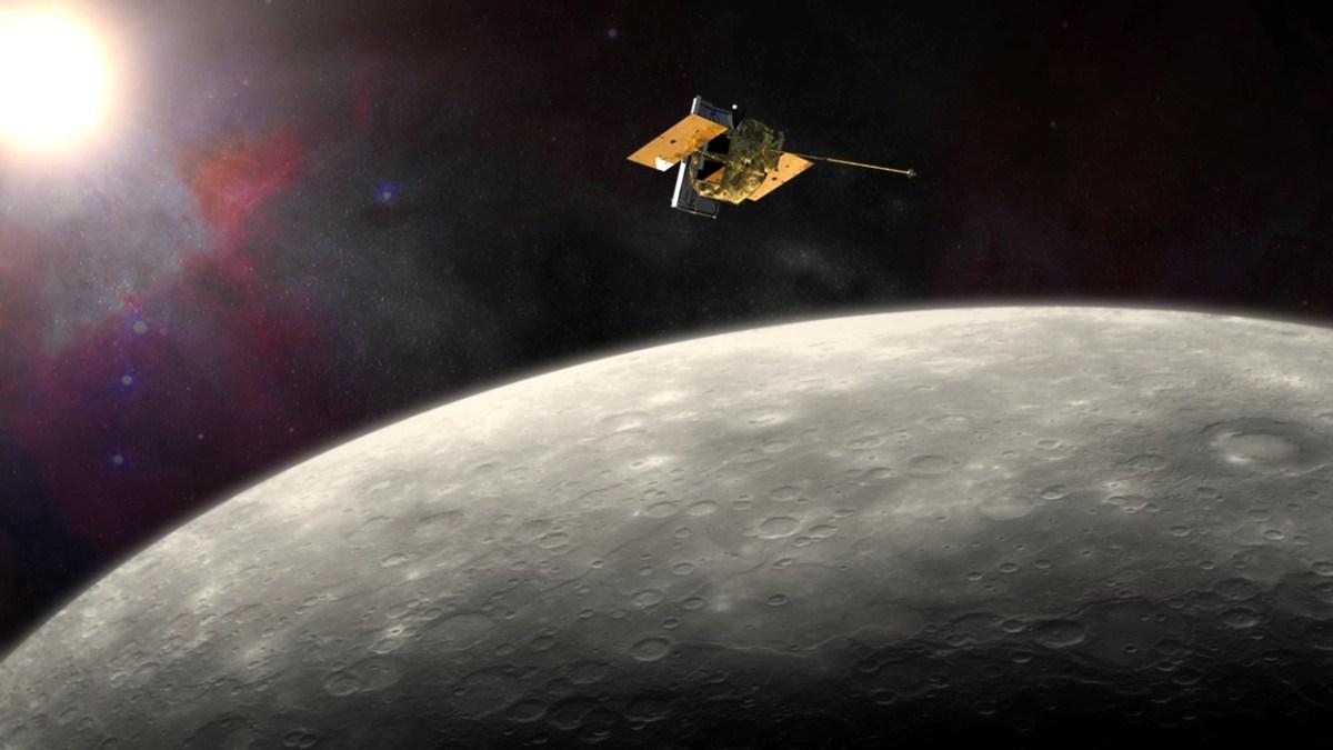 30 de abril de 2015 - A longa missão MESSENGER chegou ao fim com a queda planejada da sonda em Mercúrio