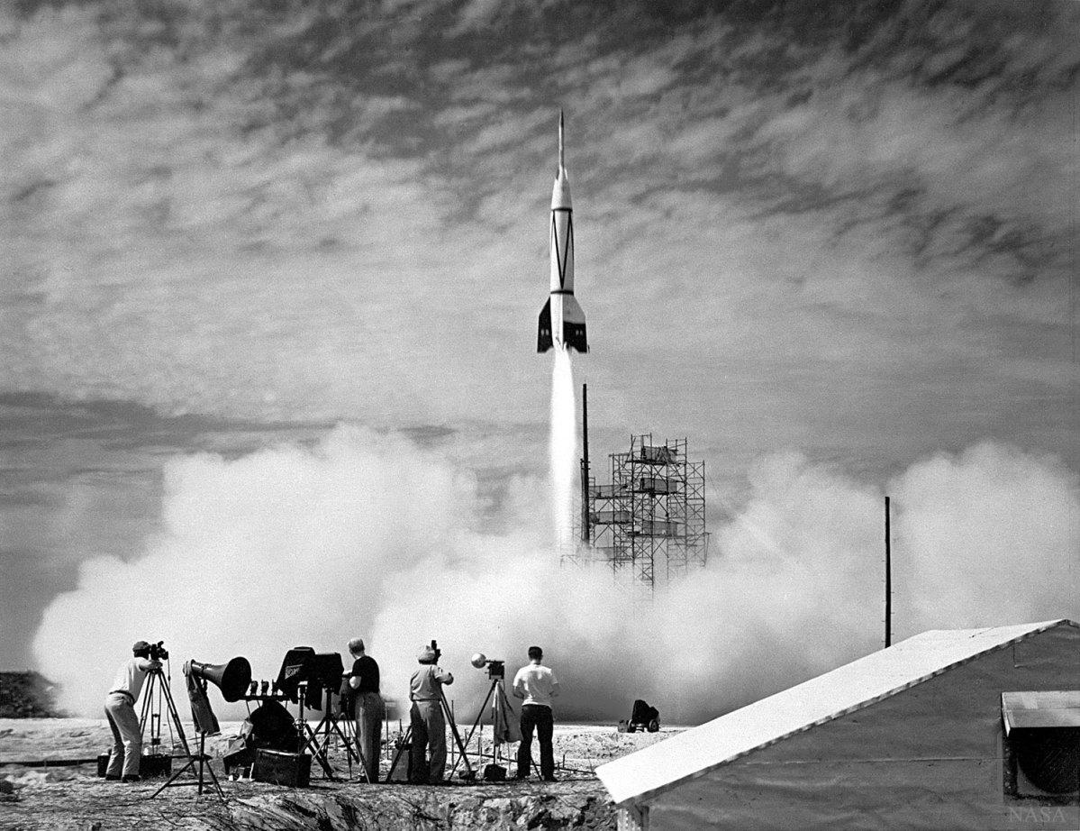 24 de julho de 1950 - o primeiro lançamento de foguete em Cabo Canaveral