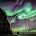Elizabeth Ryan captura as auroras sobre a legendária Reynisdrangar na Islândia