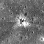LRO conseguiu finalmente determinar o local de impacto do propulsor S-IVB da Apollo 16 na Lua