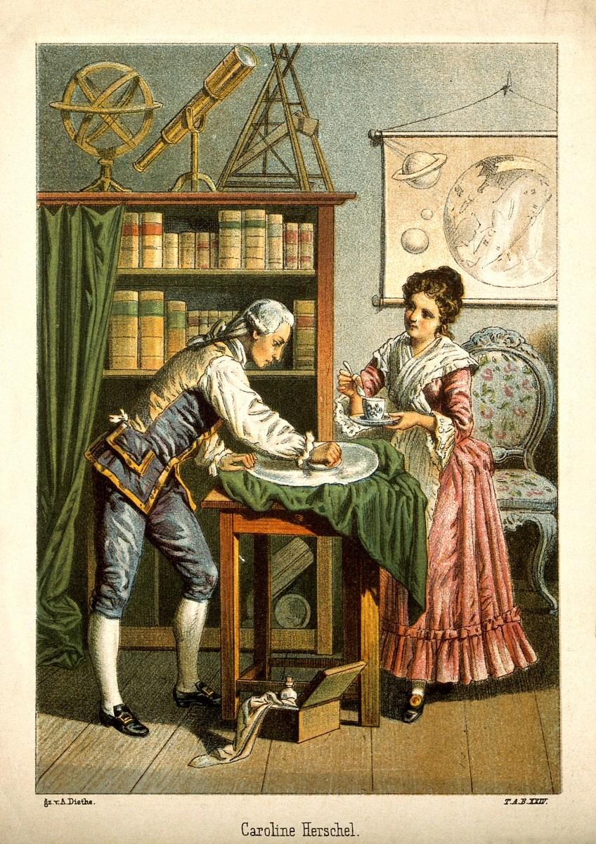 16 de março de 1750 - Caroline Lucretia Herschel