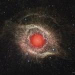 NGC 7293: a Nebulosa da Hélice em infravermelho pelo Spitzer