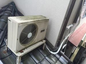 エアコン取り外し工事 城陽市