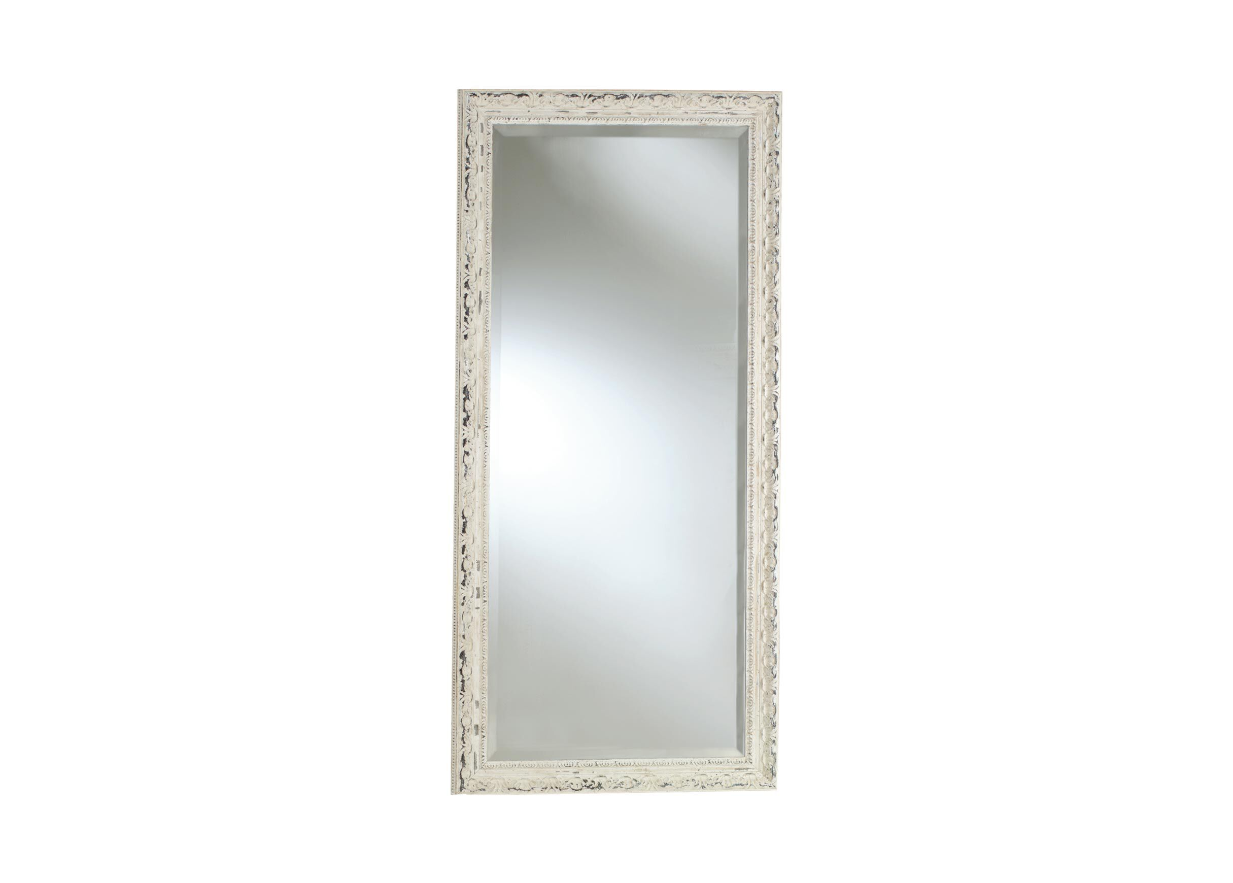 White Floor Mirror Decorative Carved Floor Mirror Mirrors Ethan Allen
