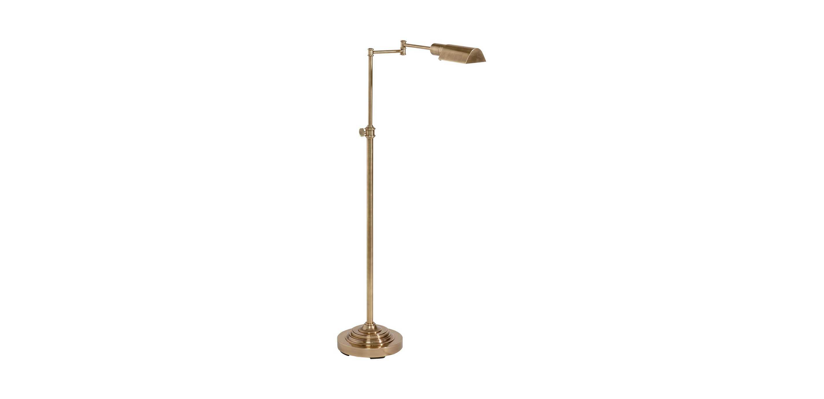 Floor Lamp Metal Brass Pharmacy Floor Lamp Floor Lamps Ethan Allen