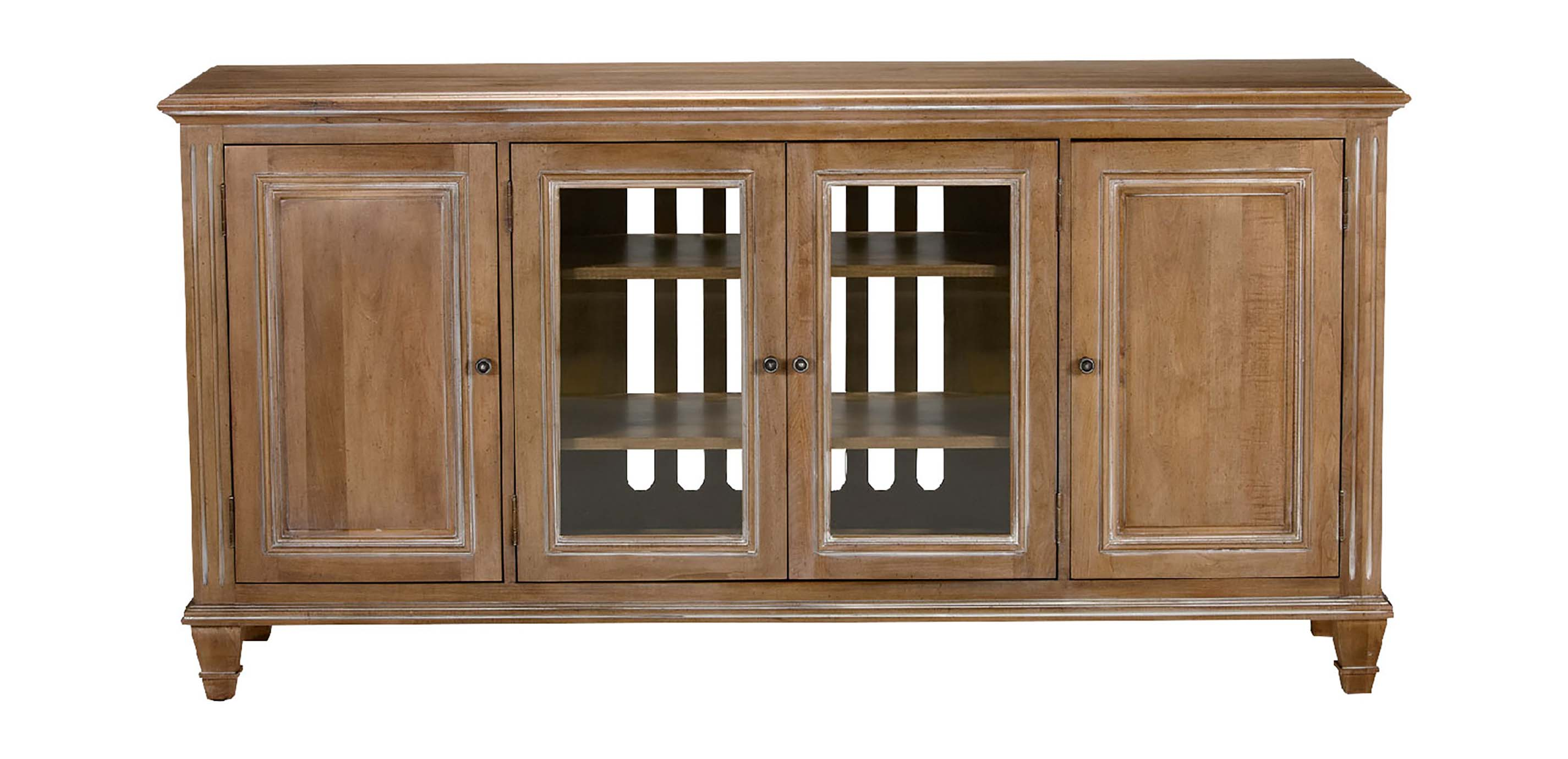 Dining Room Furniture Glass Jason Buffet With Glass Doors Buffets Sideboards And Servers