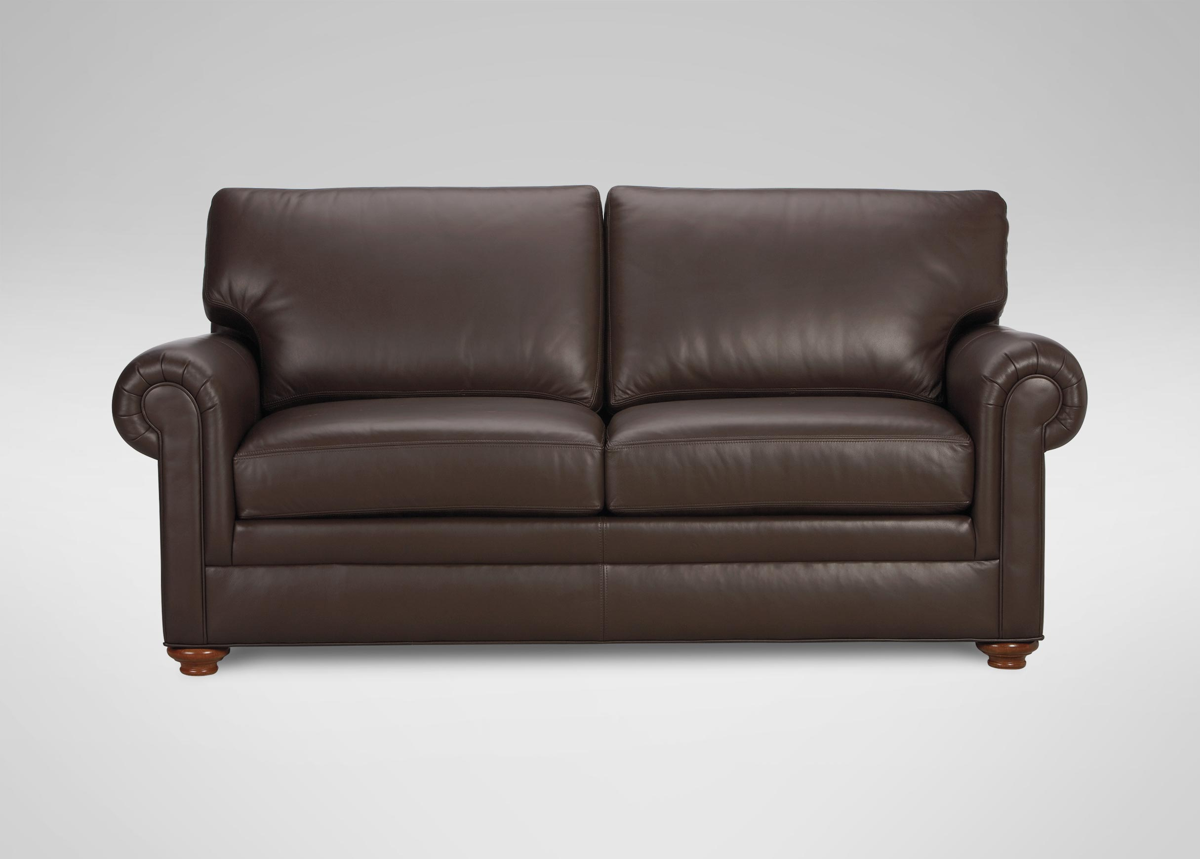 Sofas Couches Conor Leather Sofa Sofas And Loveseats