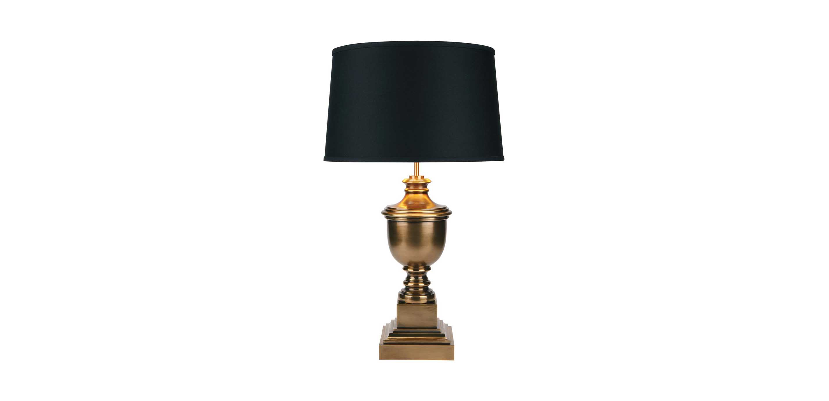 Table Lamp Small Otis Small Brass Table Lamp Table Lamps Ethan Allen