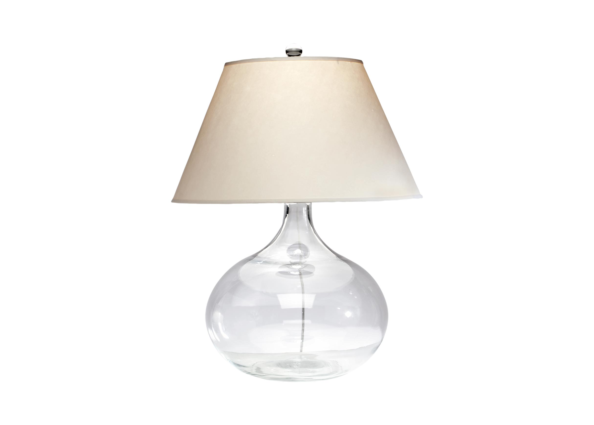 Glas Lamp Clear Glass Table Lamp Table Lamps Ethan Allen