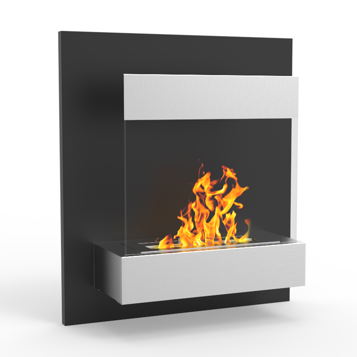 Ethanol Fireplaces Reviews Regal Flame Boston 24 Inch Ventless Wall Mounted Bio Ethanol Fireplace