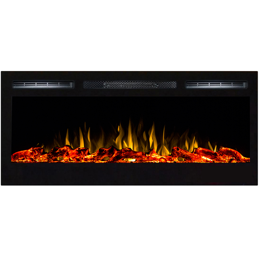 Regal Led Tv 32 Inch Regal Flame Lexington 35 Inch Built In Ventless Heater Recessed Wall Mounted Electric Fireplace Log