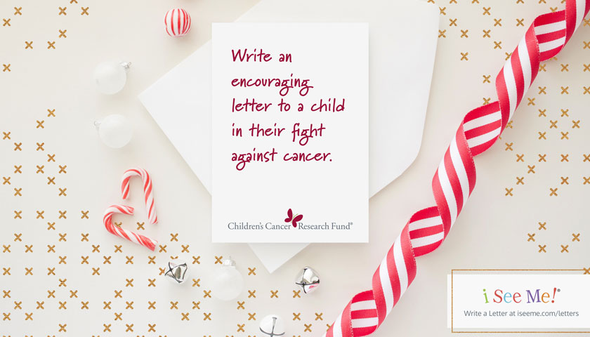 Send Uplifting Letters and Books to Kids with Cancer this Holiday in