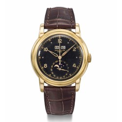 A wristwatch once belonged to Ethiopian Emperor Haileselassie is offered for sale at Christie&#8 ...