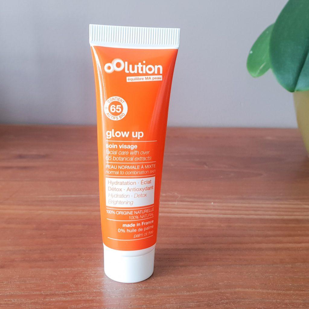 Ma routine visage OOLUTION [Naturel, Bio, Cruelty Free et Vegan] Glow Up crème hydratante peau mixte