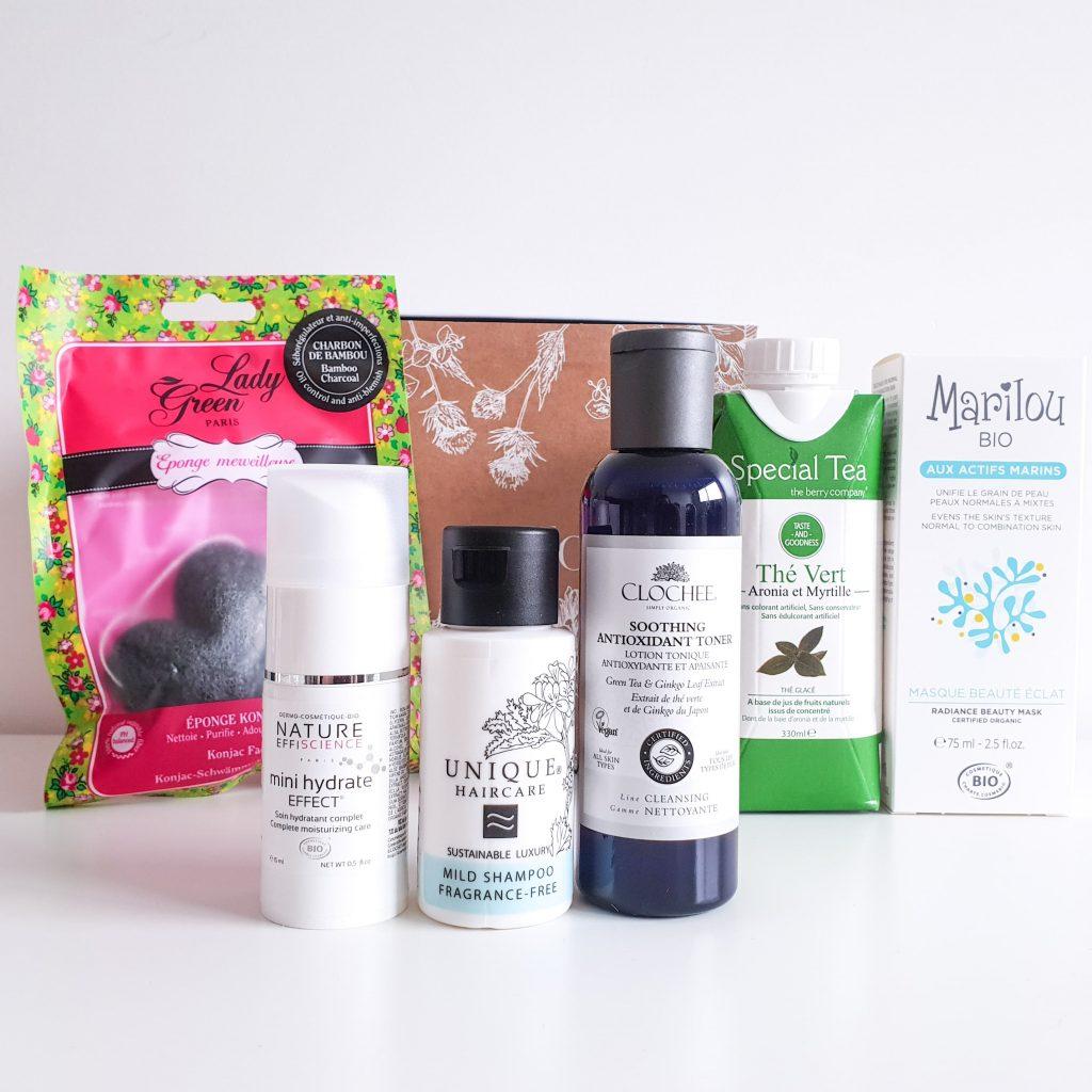 Botanique [Nuoo Box – Janvier 2019] Les produits