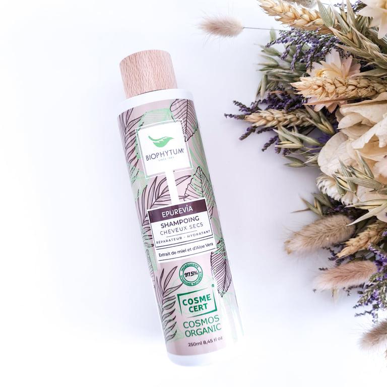 Shampoing usage fréquent de la marque Biophytum gamme Epurevia