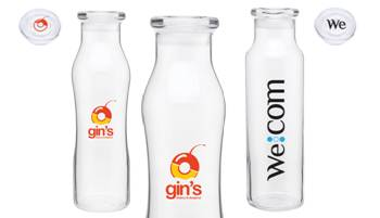 Reusable Glass Water Bottles Made in USA