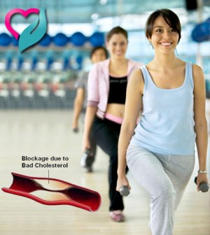 women exercising to reduce cholestrol