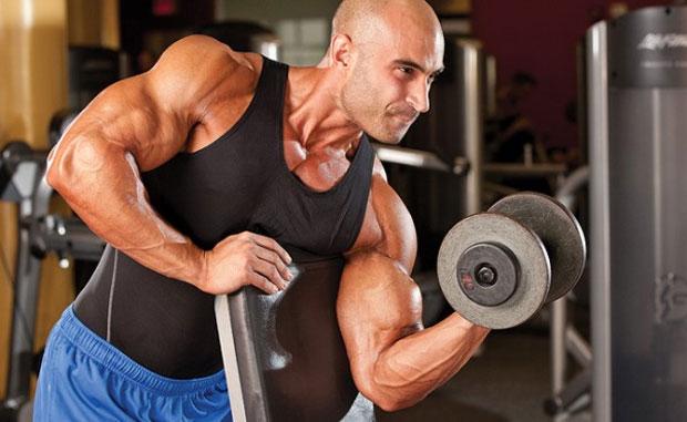 building biceps