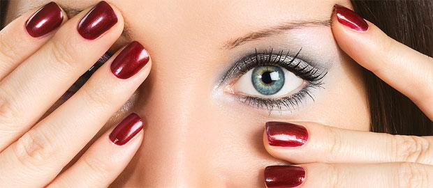 eyes and nails