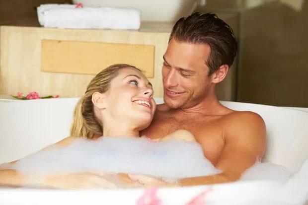 love in tub