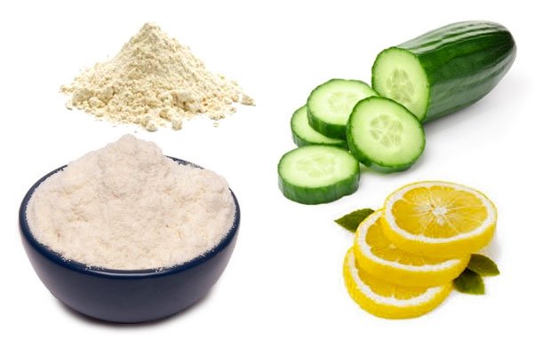 rice flour lemon