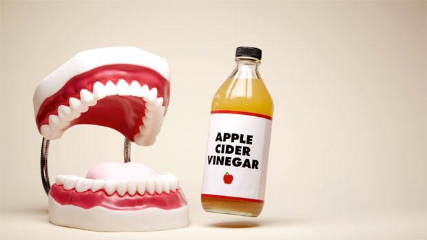 apple vinegar teeth