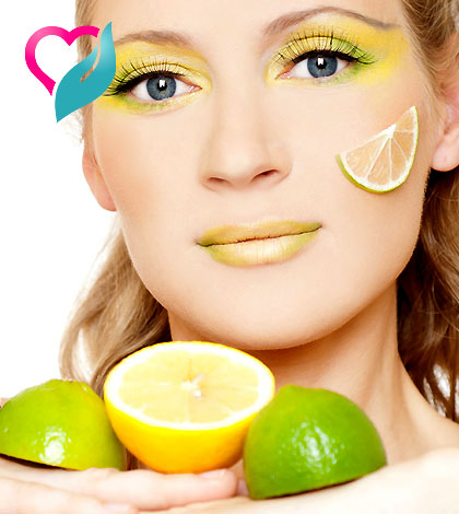 lemon peel face mask