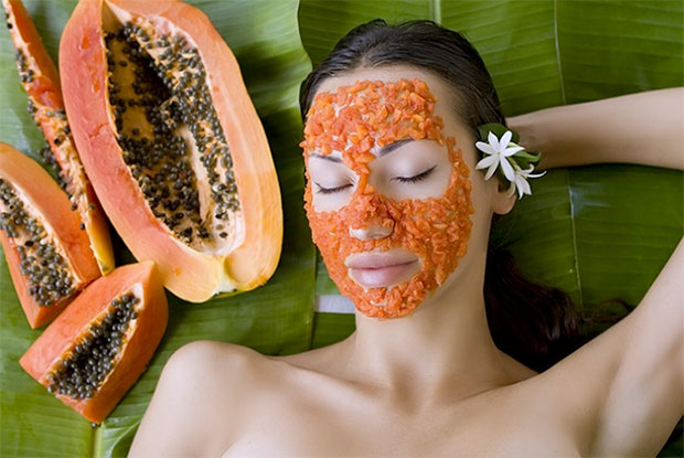 papaya acne tip