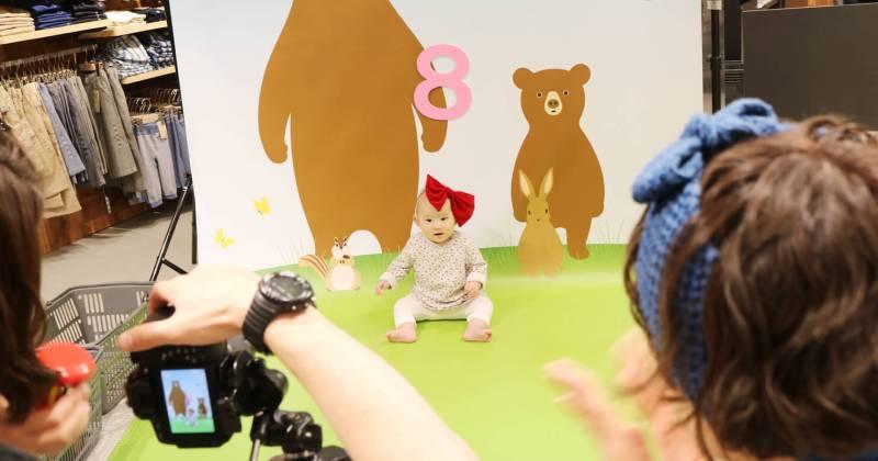 7/23 無印良品 仙台ロフト店にて「こども写真撮影&プリント体験会」を開催しました!