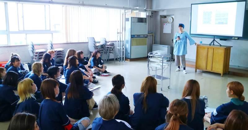 5/17(木)住田美容専門学校にて撮影講座を開催しました。