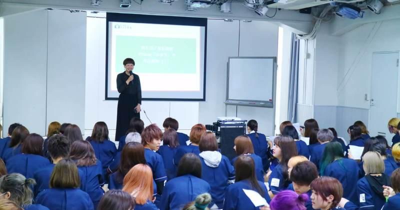 6/7(木)住田美容専門学校にて撮影講座を開催しました。
