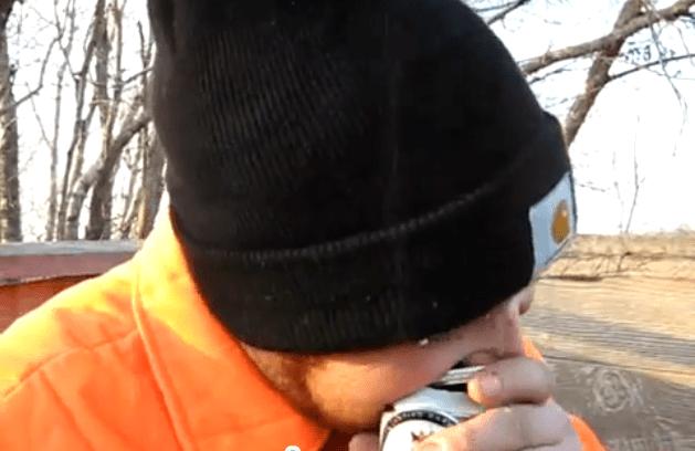 abrindo cerveja