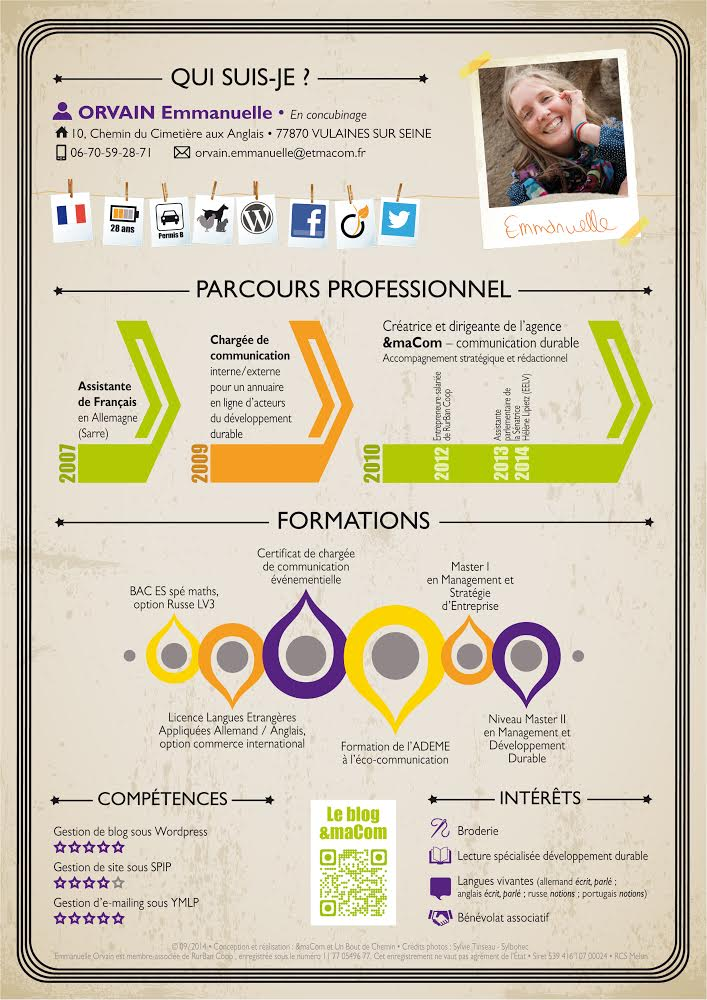 competences cv photographe