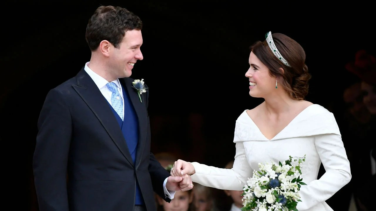 Queen Elizabeth Hochzeit Why Didn T Princess Eugenie Wear A Veil At Her Royal Wedding