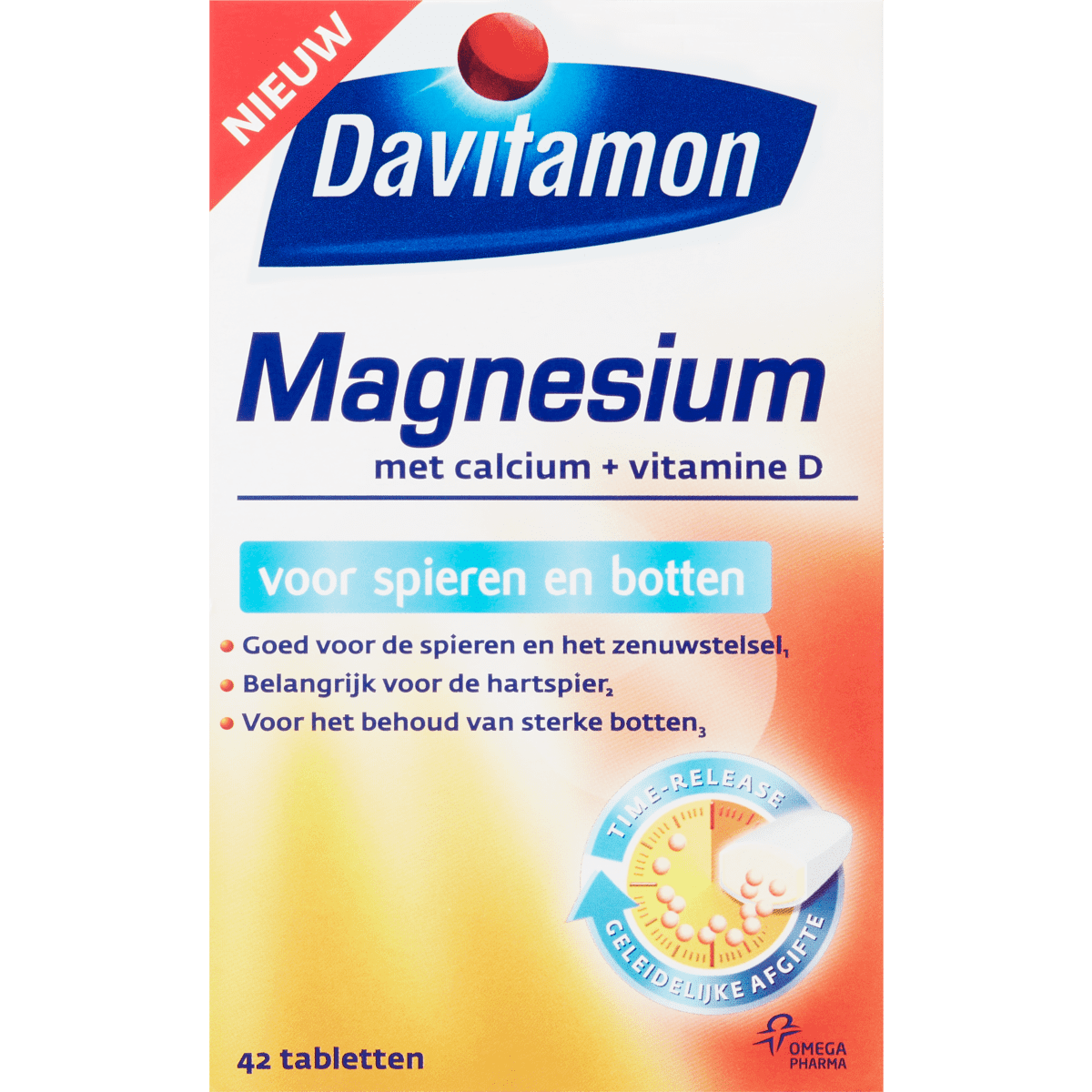 Calcium Tabletten Davitamon Magnesium Met Calcium Vitamine D Tabletten
