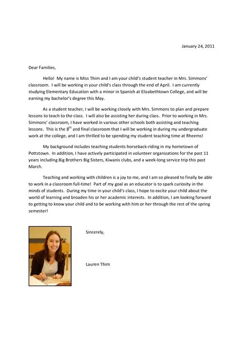 Digication e-Portfolio  Lauren Thim\u0027s Portfolio  5th Grade - letter to students from teacher