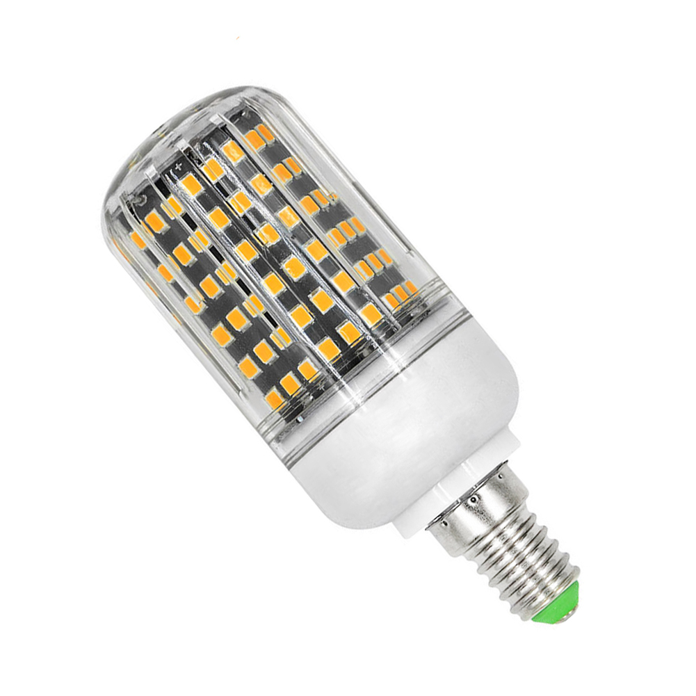 E27 E14 E27/e14/gu10/b22 2835smd 162led Corn Bulbs Lamp Warm/cool