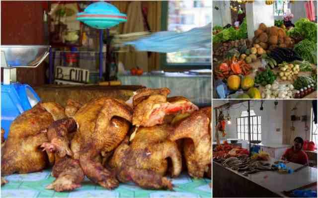 Local market in Banaue