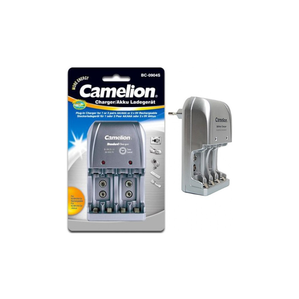 Camelion Bc 0904s 9v Aa Aaa Eu Plug Battery Charger For Battery Cha