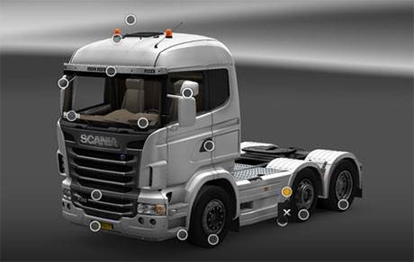 Mighty Car Mods Wallpaper Scania 6 215 4 6 215 2 Sideskirt Ets 2 Mods