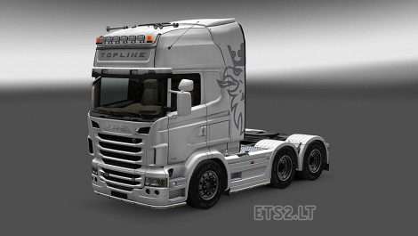 Scania R Series Modified-1